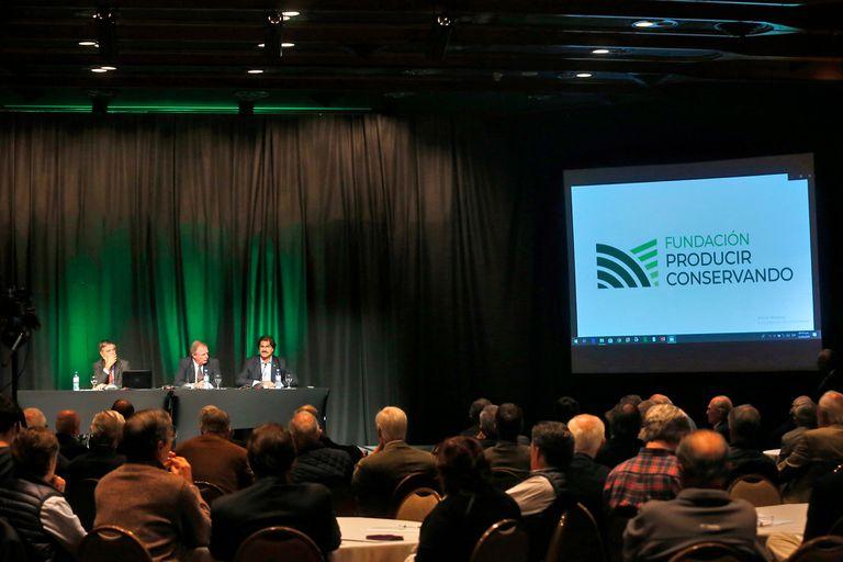 Hoy por la mañana se desarrolló el XXVII seminario de la Fundación Producir Conservando