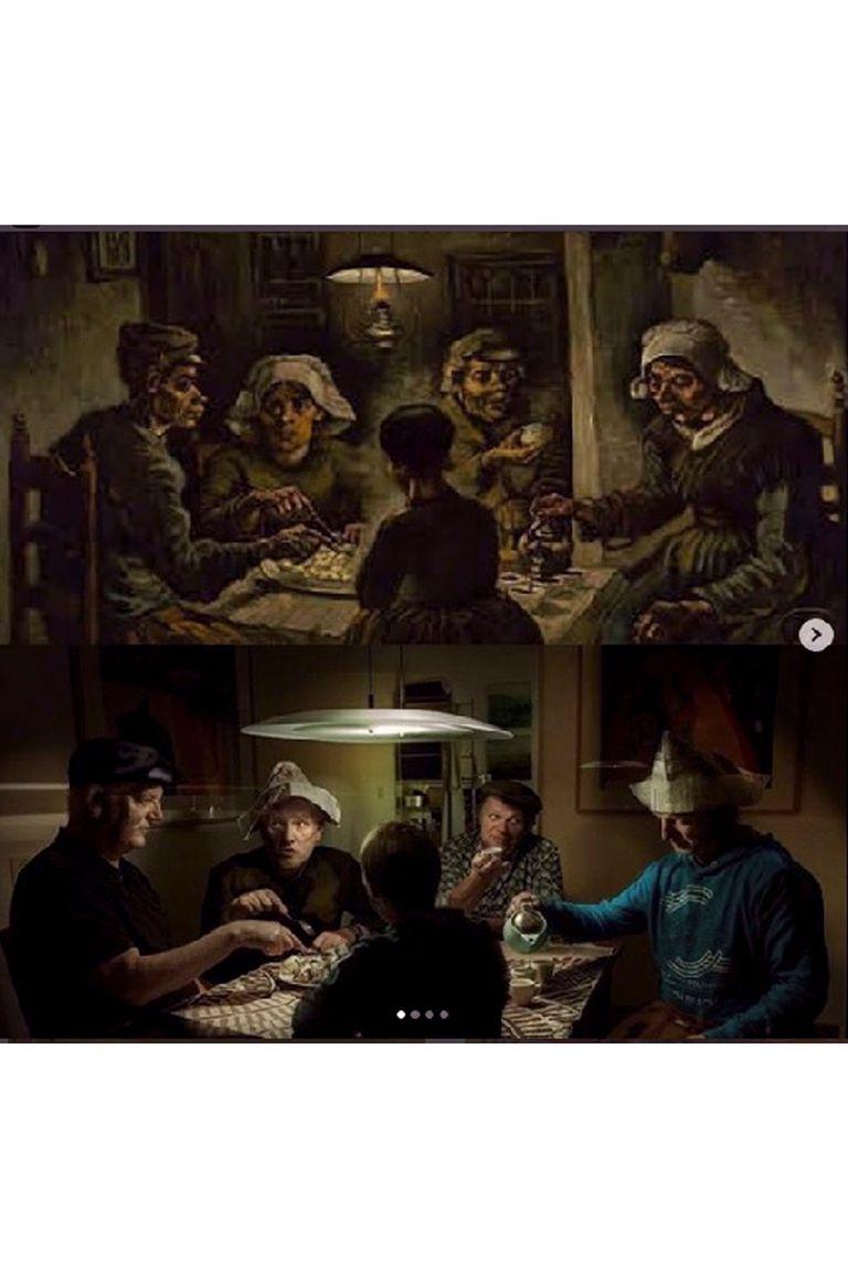 Instagram del Museo Van Gogh