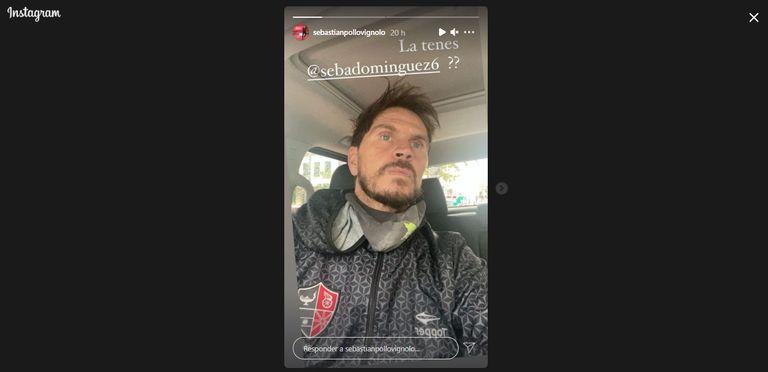 Divertido cruce entre Vignolo y Domínguez en las redes por una campera de Newell's