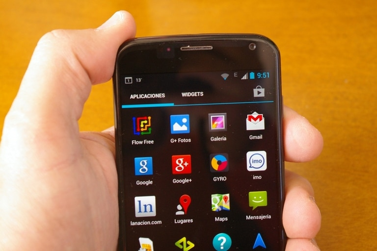 Motorola casi no modificó el aspecto general de Android 4.2.2