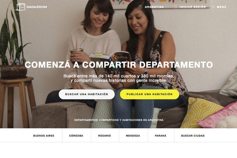 Dada Room es un sitio que une personas que buscan compartir la casa.