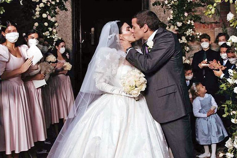 Luigi Berlusconi. La boda del hijo menor de Silvio Berlusconi, en Milán