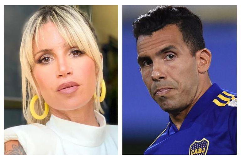 Florencia Peña utilizó sus redes sociales para arremeter contra el delantero de Boca por un tema ajeno al fútbol