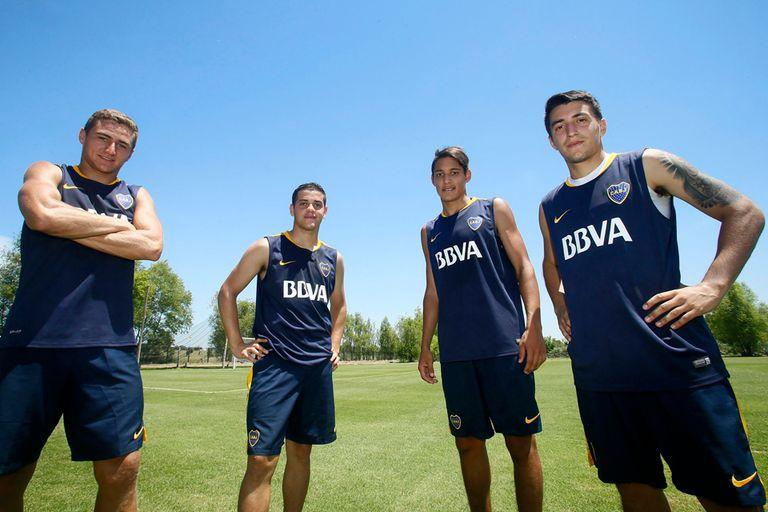 Silva Torrejón, Messidoro, Molina Lucero y Leszczuk, los juveniles que hicieron la primera pretemporada