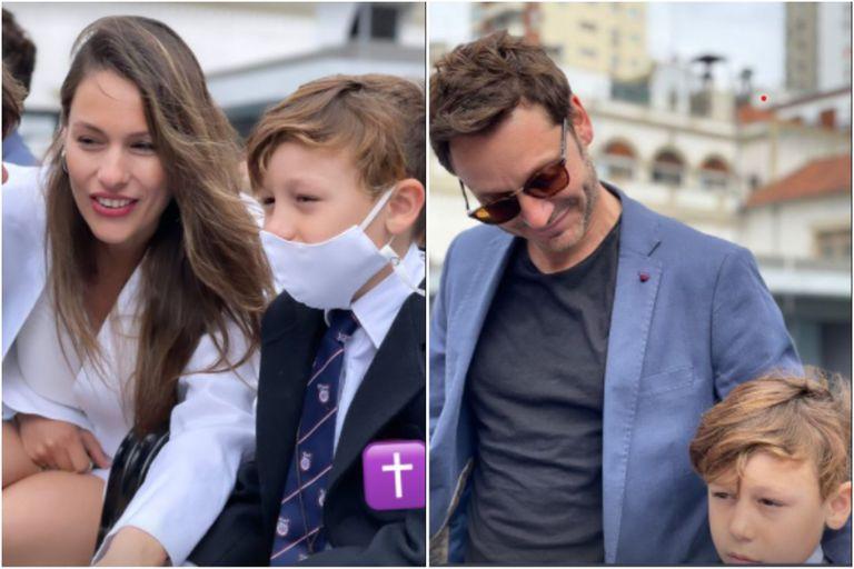 Pampita y Benjamín Vicuña, juntos en un día muy importante para su hijo Beltrán