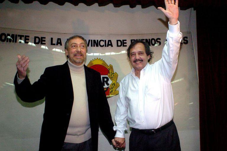 La fórmula radical bonaerense: Alfonsín-Brandoni