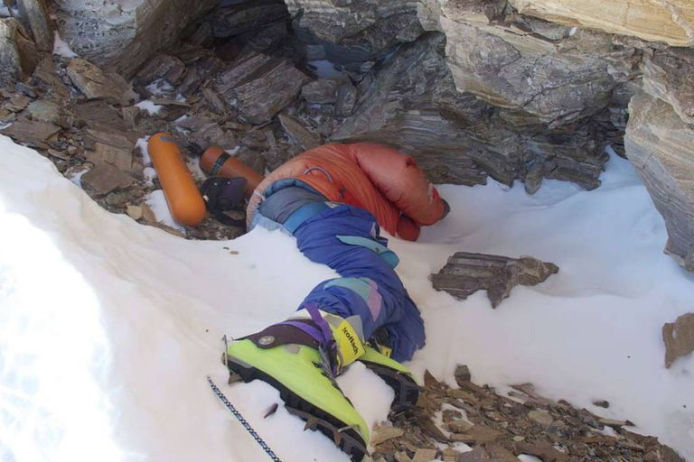 El crudo final de los escaladores que murieron en el monte