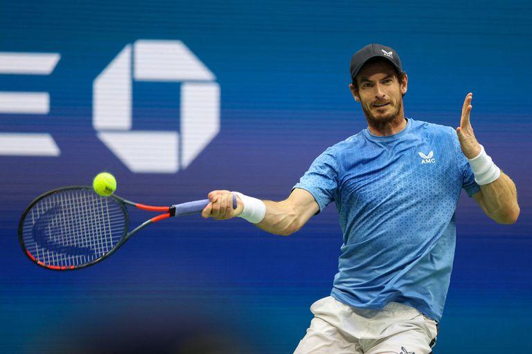El británico Andy Murray celebró la explosión de su compatriota Emma Raducanu, ganadora del último US Open.