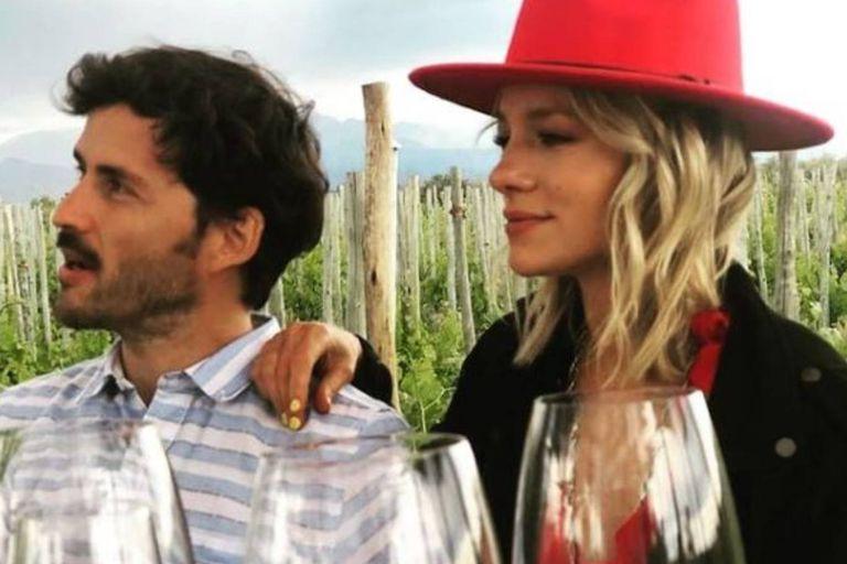 Las fotos de Virginia Da Cunha y su novio en un paseo íntimo en Mendoza