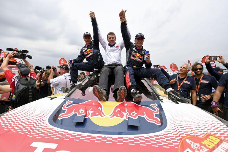 Carlos Sainz mantuvo la hegemonía de Peugeot