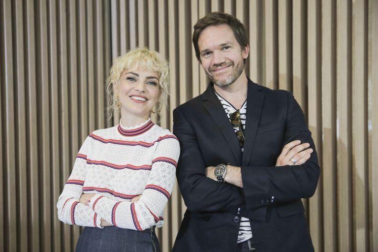 Dolores Fonzi y Juan Gil Navarro, dos de los protagonistas