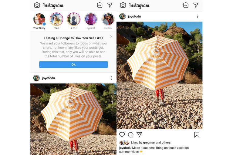 F8 2019: por qué Instagram quiere ocultar el número de Likes en fotos y videos
