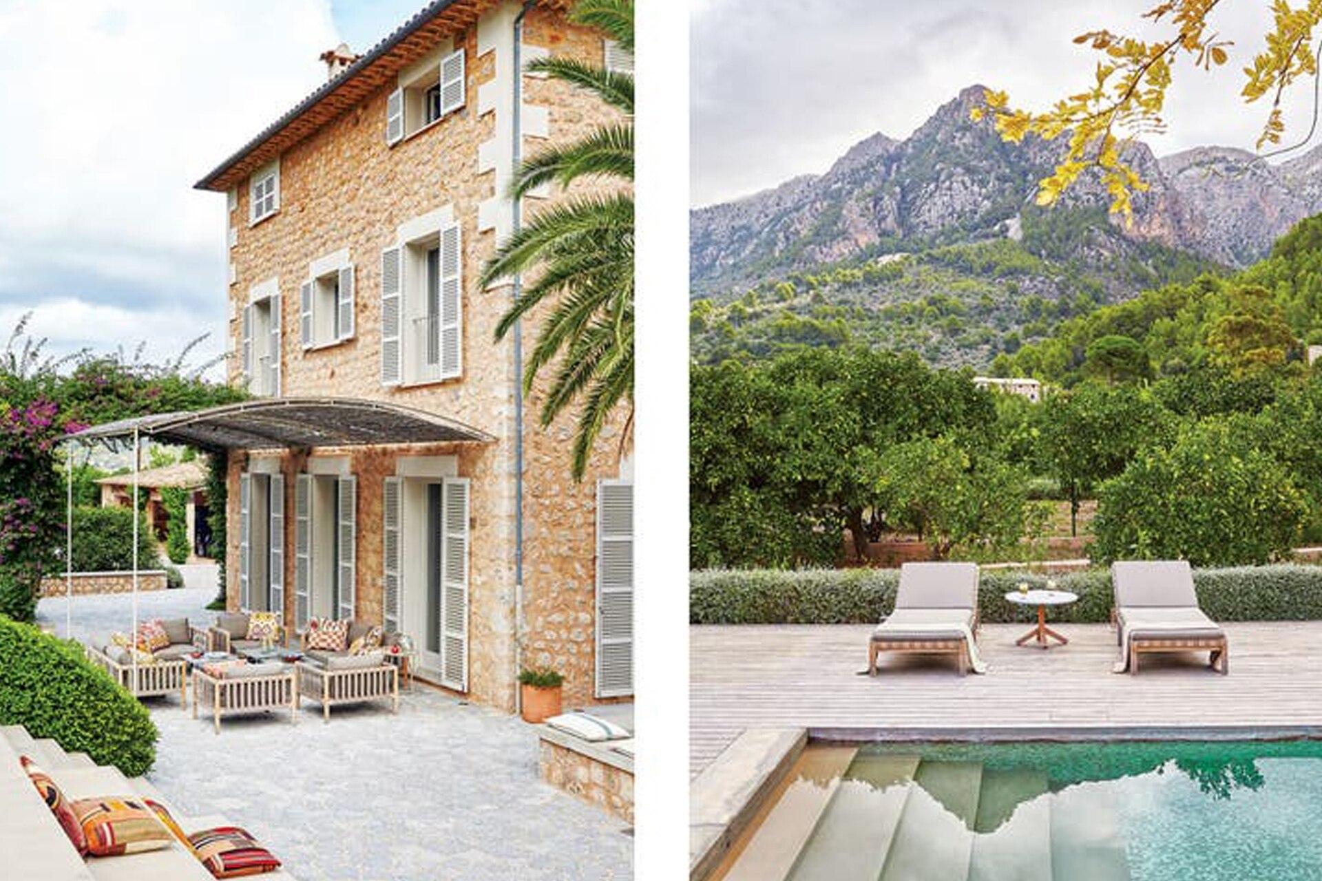 La arquitectura simple es lo primero que le atrajo a Damián Sánchez de esta casa de tres pisos. Reorganización mediante, mantuvo sus raíces rurales con todo el confort de una casa moderna.