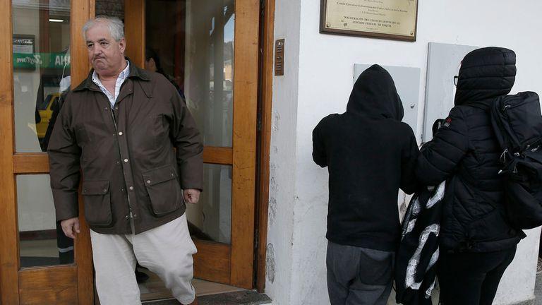 Gonzalo Cané, titular de la Secretaría de Cooperación con los Poderes Judiciales, Ministerios Públicos y Legislaturas del Ministerio de Seguridad, estuvo hoy en el Juzgado Federal de Esquel