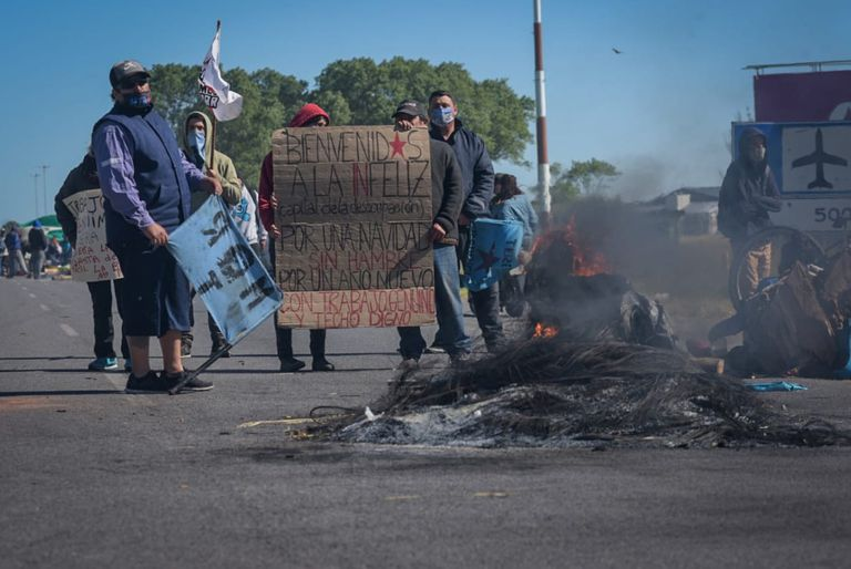 Se estima que el corte durará hasta que se cumplan las 24 horas de protesta