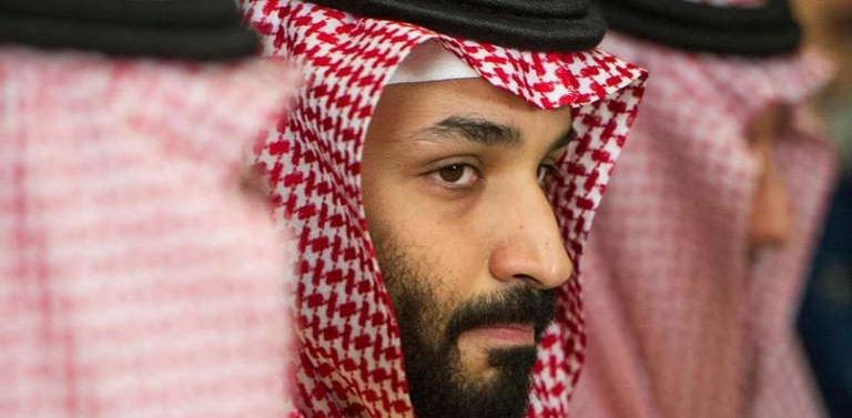 El príncipe heredero de Arabia Saudita, Mohammed ben Salman