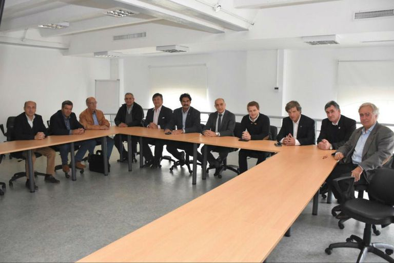 Las entidades del agro con funcionarios del gobierno bonaerense