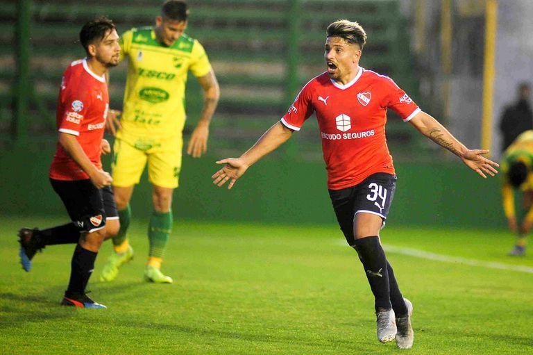 Beccacece volvió a Varela con Independiente y su fórmula sigue siendo exitosa