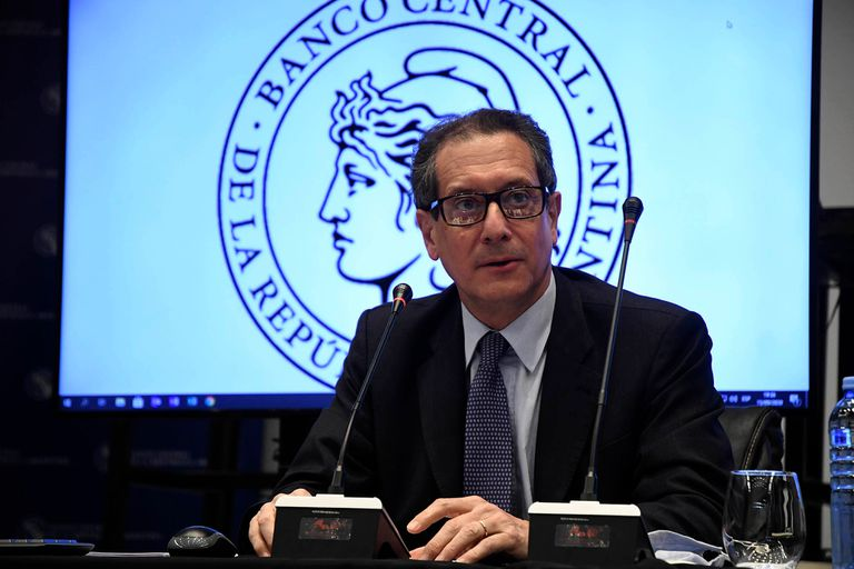 Miguel Pesce, presidente del Banco Central; el Tesoro dijo que no utilizará adelantos transitorios este año