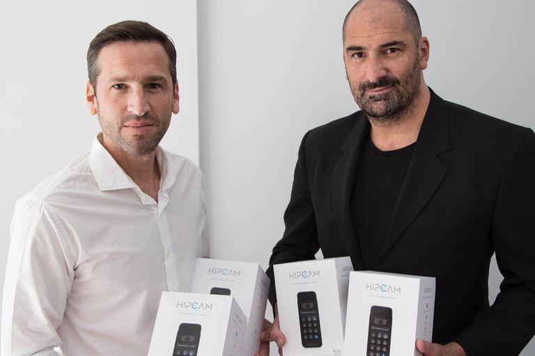 Esteban Zecler y Jonathan Lemcovich fundaron Hipcam.