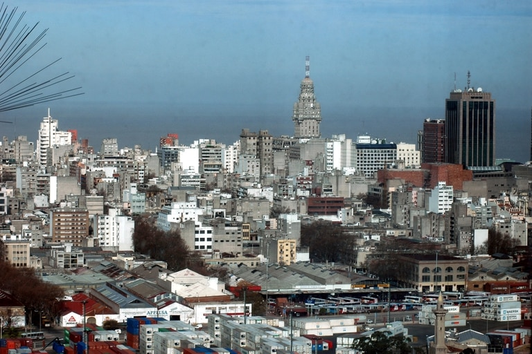 Vista de Montevideo