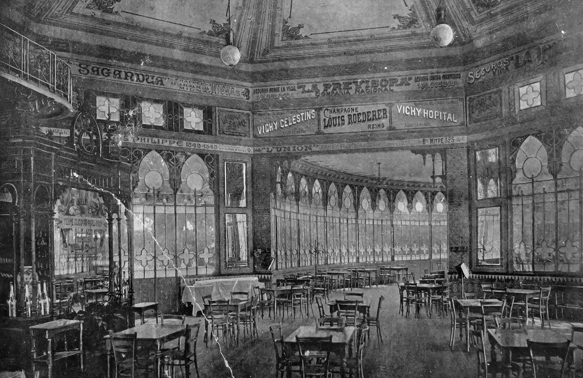 Una de las salas interiores del edificio.
