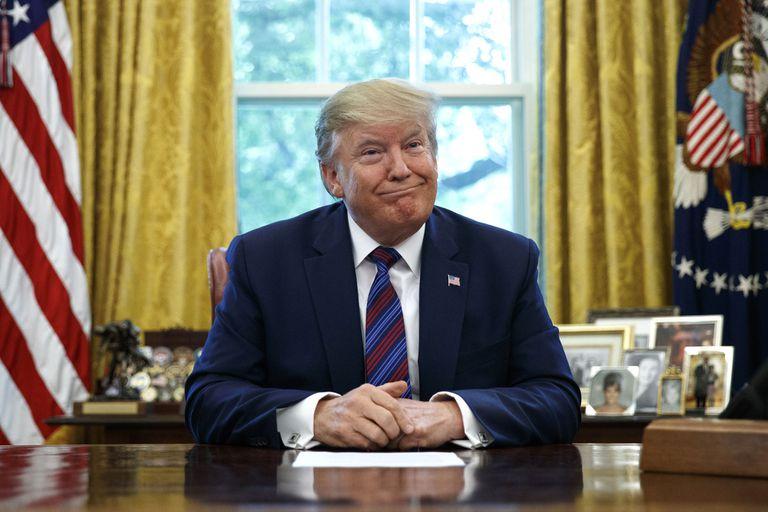 El presidente Donald Trump protagonizó otra polémica