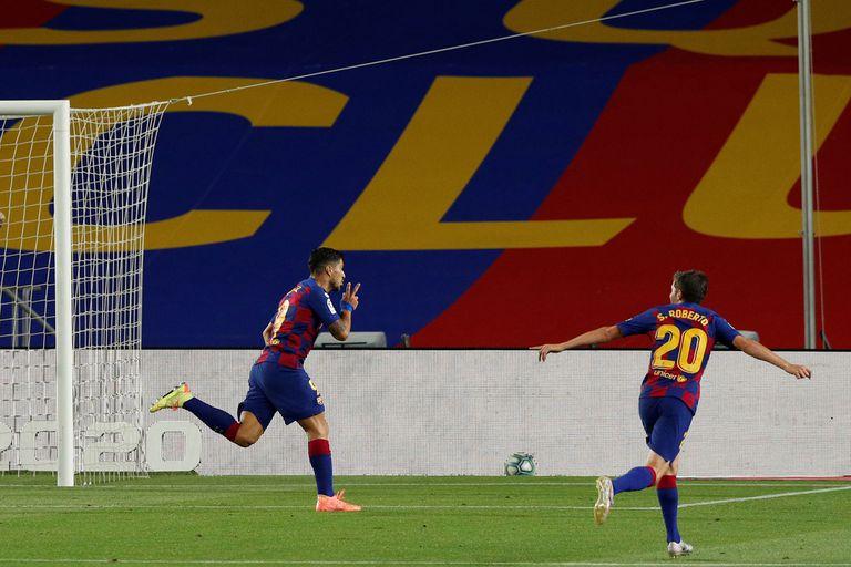 España: Barcelona ganó 1-0 y mandó al descenso a Espanyol, su rival catalán