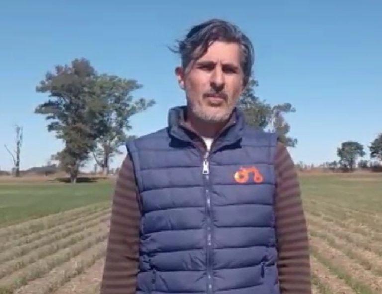 """El dirigente ruralista Roberto Palomo pidió """"un paro que se extienda en el tiempo"""""""