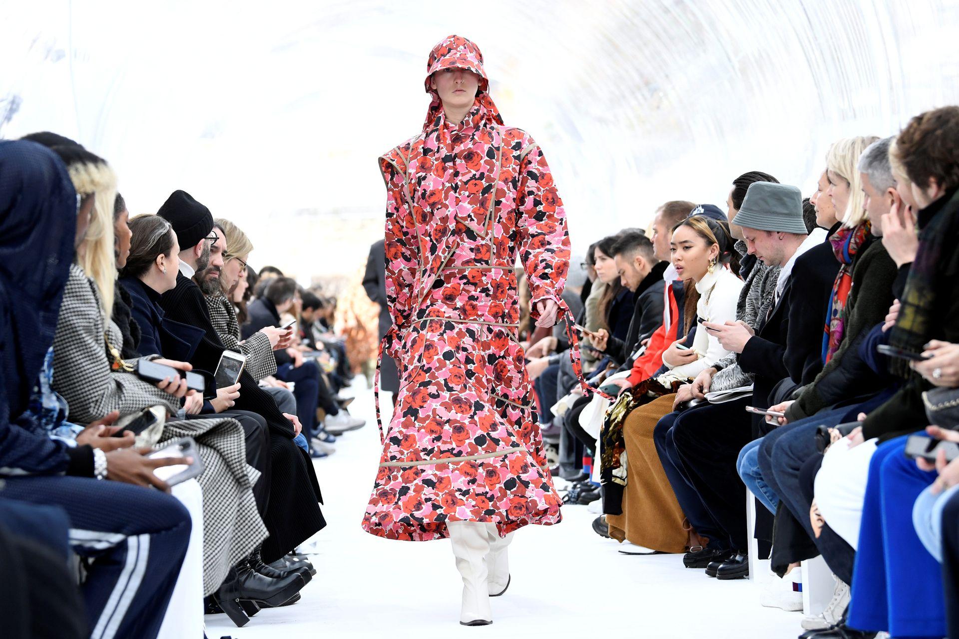 Colección de Felipe Oliveira Baptista para Kenzo, en París Fashion Week 2020