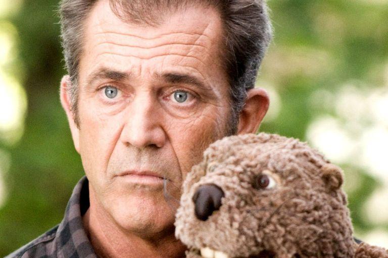 Mel Gibson hablaba con un castor y a nadie le interesó verlo