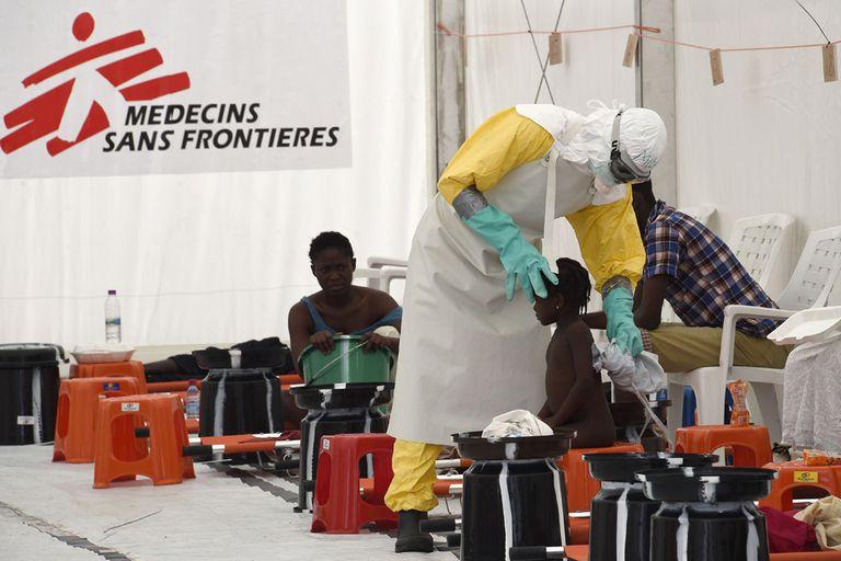 ébola áfrica occidental brote muertos afectados