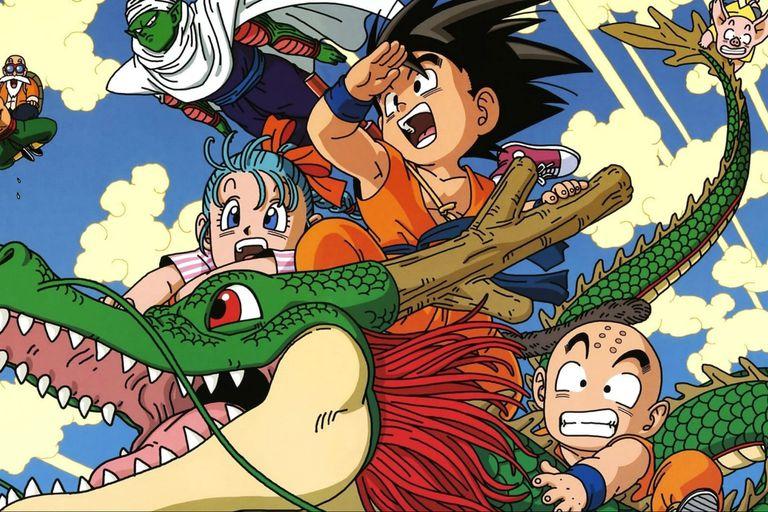 En 1986 se estrenaba el exitoso anime Dragon Ball. Fuente: Toei animation.