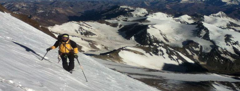 Andinista extremo. El mendocino que tiene el récord de ascensos al Aconcagua