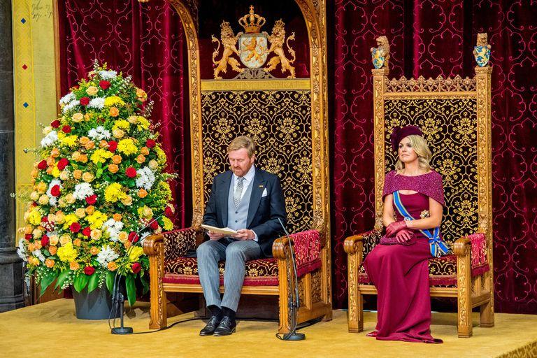 La información la dio el propio Rey en su discurso que todos los años desde el Ridderzaal –la Sala de los Caballeros– en el Binnenhof.