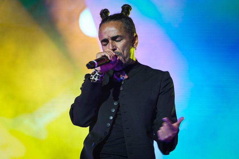 "Rubén Albarrán canta ""La cúpula"" en la gira Gracias Totales"