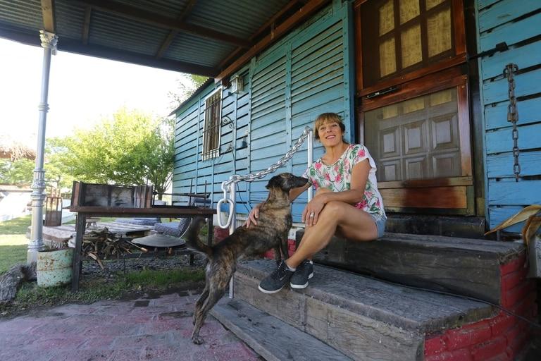 Miriam Gattari dejó la ciudad en 2002 y se instaló en el Paraje El Porteño, en el partido de Magdalena