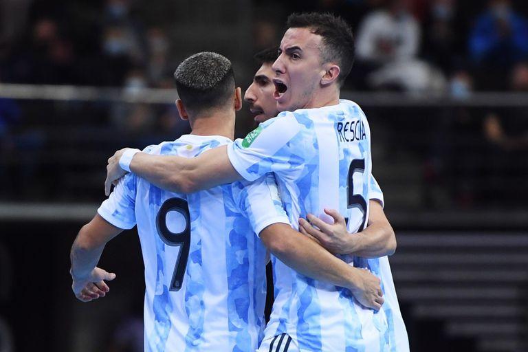 Argentina-Portugal: horario y TV de la final del Mundial de futsal