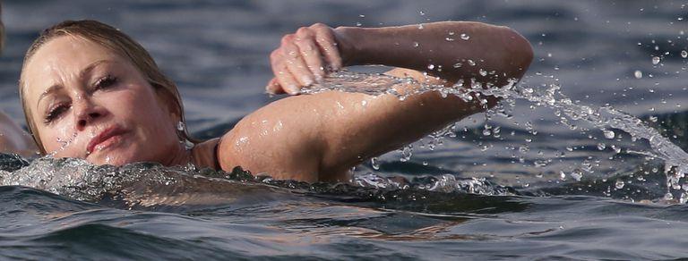 En fotos: del chapuzón de Melanie Griffith a una irreconocible Jennifer Lawrence