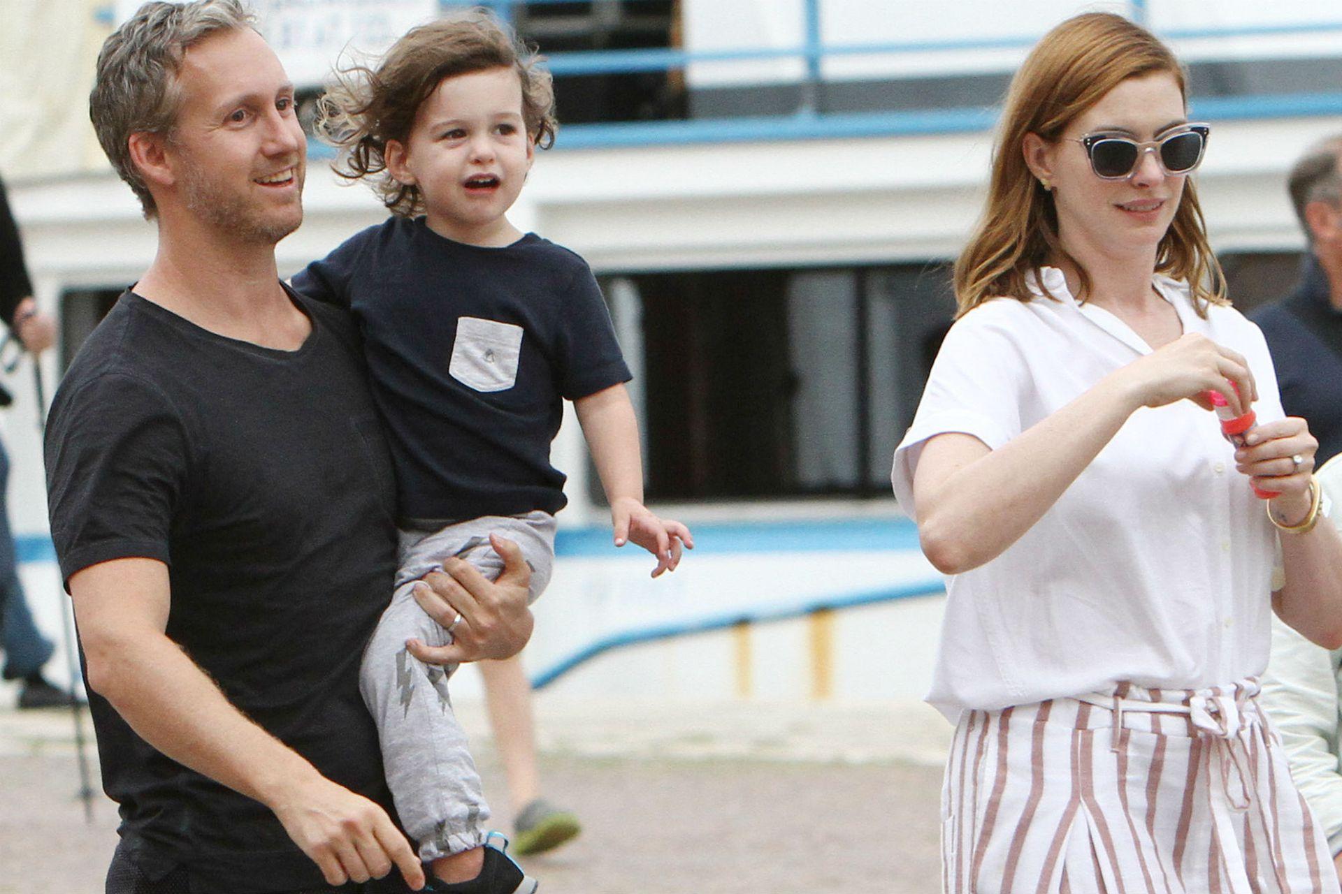 El presente de Anne: la actriz de 35 años formó una familia junto a Schulman, con quien tiene un hijo de dos años, Jonathan
