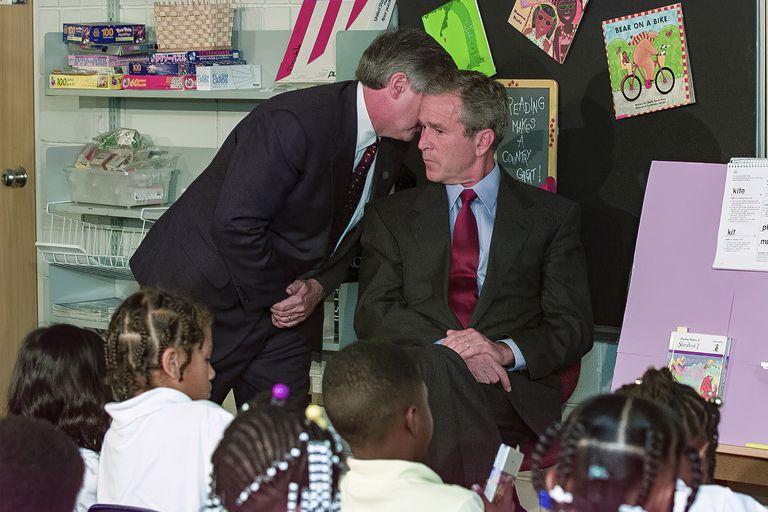 La particular reacción de Bush cuando se enteró de los atentados