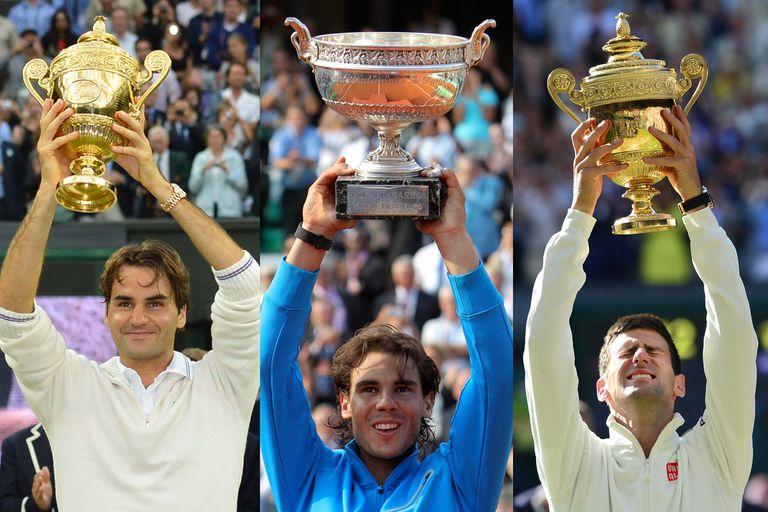 Récord. Rafael Nadal ya suma 20 Grand Slam: cómo sigue la lucha del Big 3