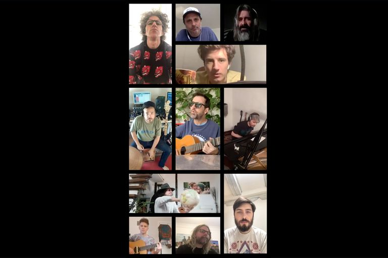 La banda argentina en Madrid que convoca a famosos para cantar en Instagram