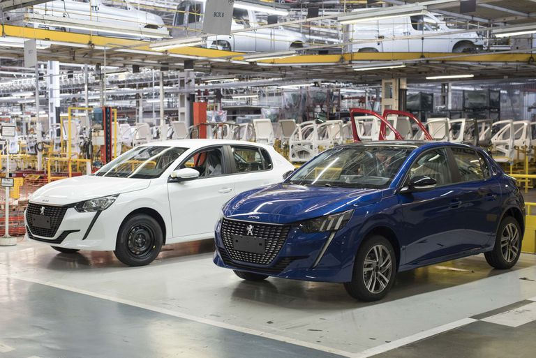 El Peugeot 208 ya se produce en la planta de El Palomar