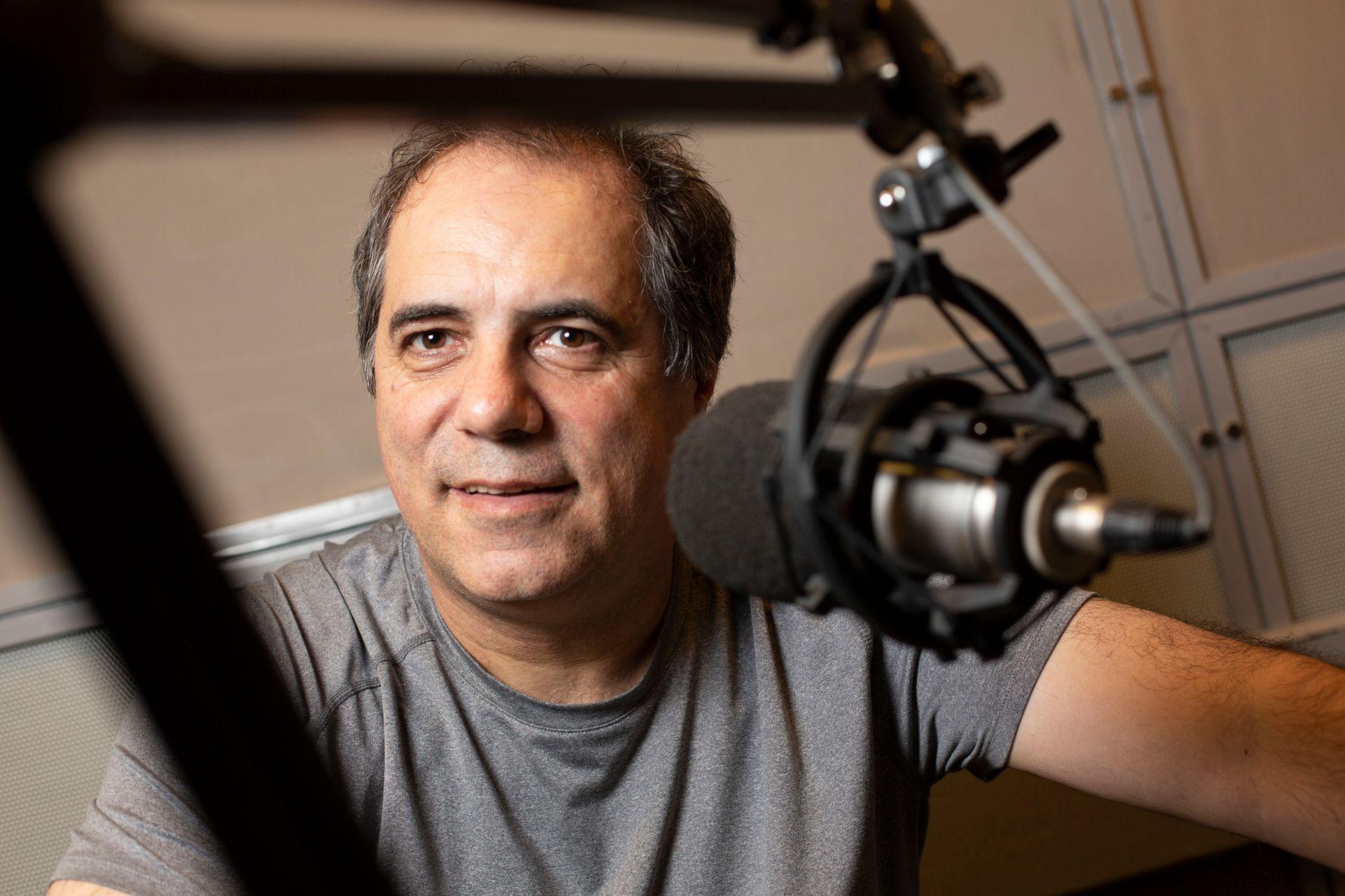 Jorge Rial le abrió las puertas de la tele y de la radio; luego, se mantuvo en el éter de la mano de Daniel Hadad