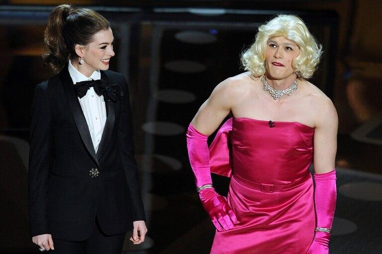 Anne Hathaway y James Franco, una dupla para el olvido