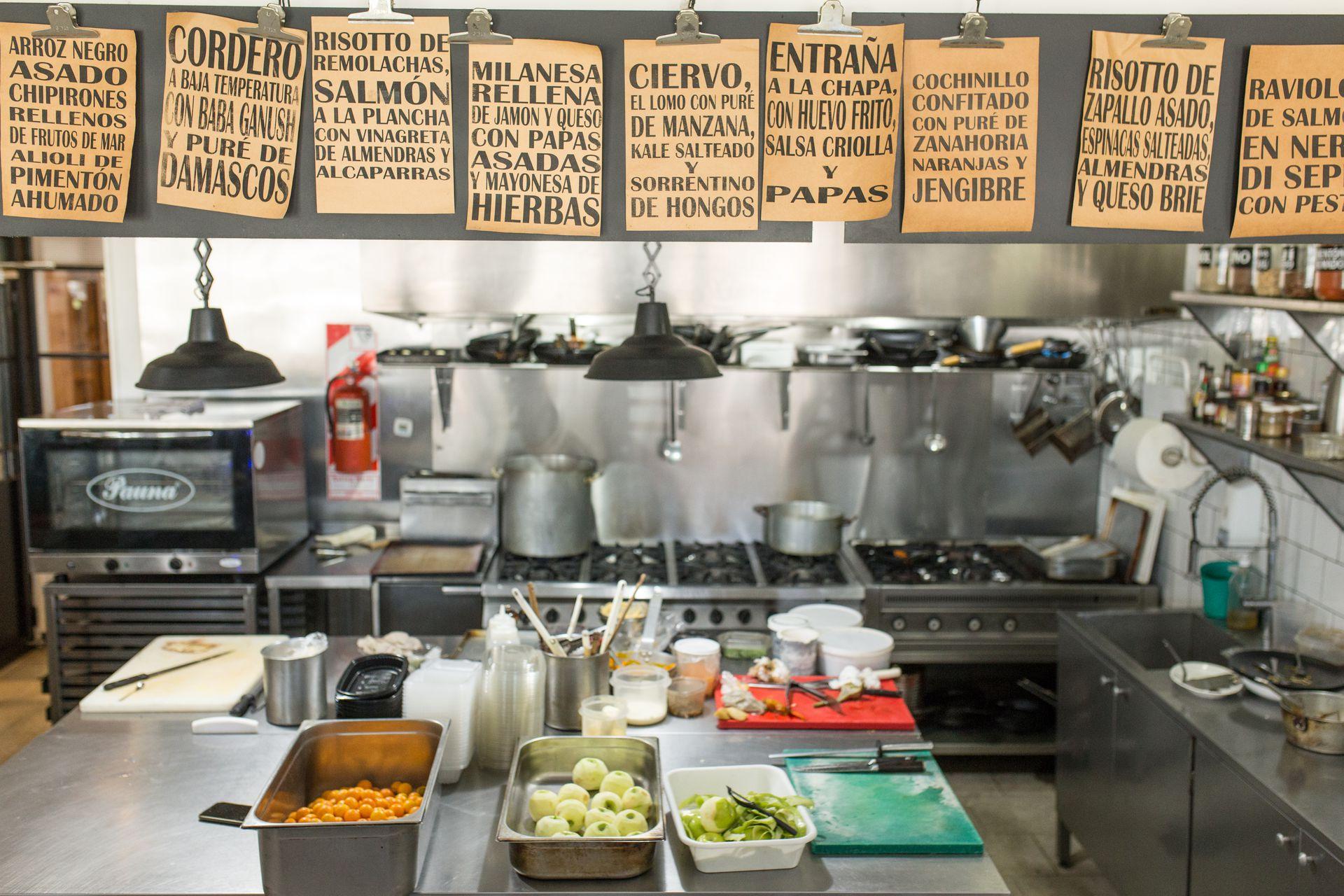 La cocina de Abrebocas.