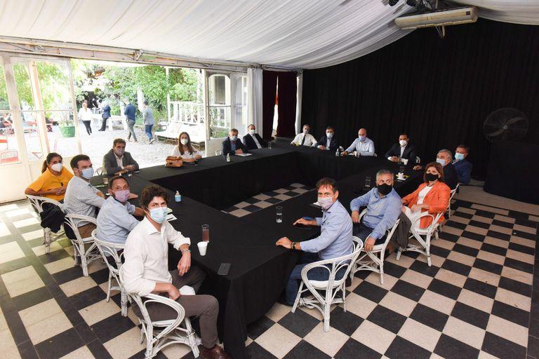 La reunión de la mesa nacional de Juntos por el Cambio