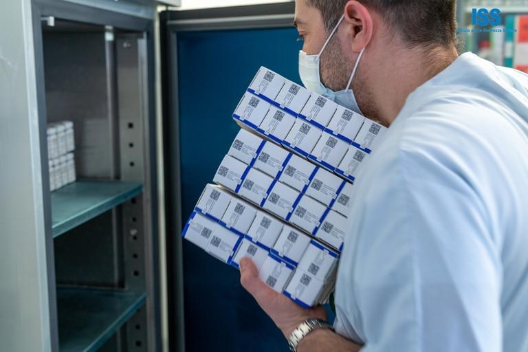 Las primeras 15.000 dosis de la vacuna rusa, Sputnik V, llegaron este martes 23 de febrero de 2021 a San Marino