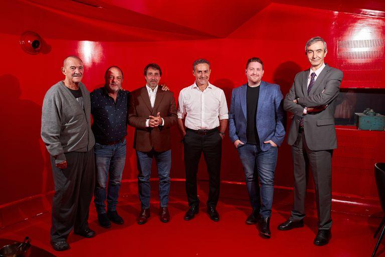 Rolando Hanglin, Baby Etchecopar, Eduardo Feinmann, Luis Majul, Jonatan Viale y Nelson Castro, los protagonistas de la programación 2021 de Radio Rivadavia